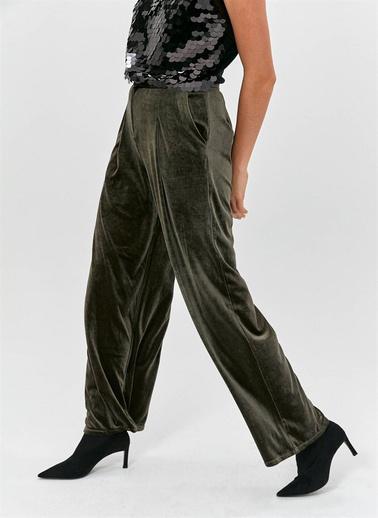 Fracomina Pantolon Yeşil